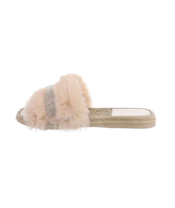 Dámské béžové pantofle NN153