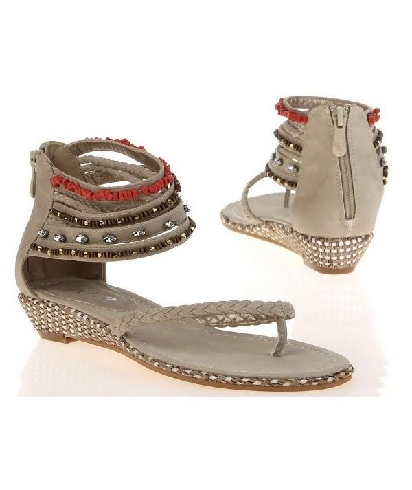 Dámské béžové sandály