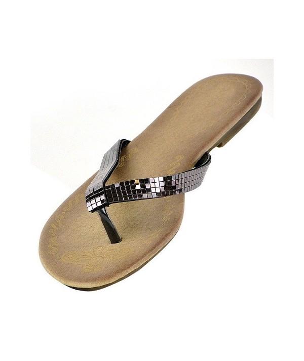 Zajímavé dámské letní pantofle