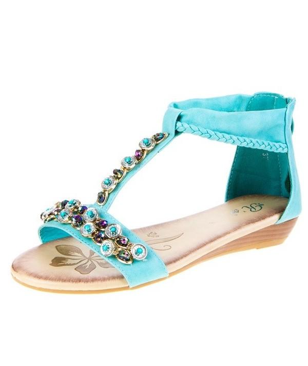 Dámské sandály 0962 blue
