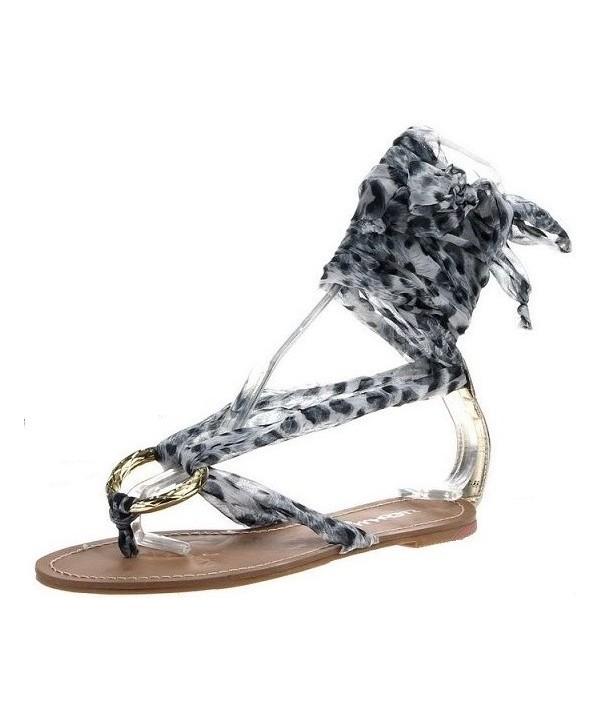 Letní dámské sandály černé...