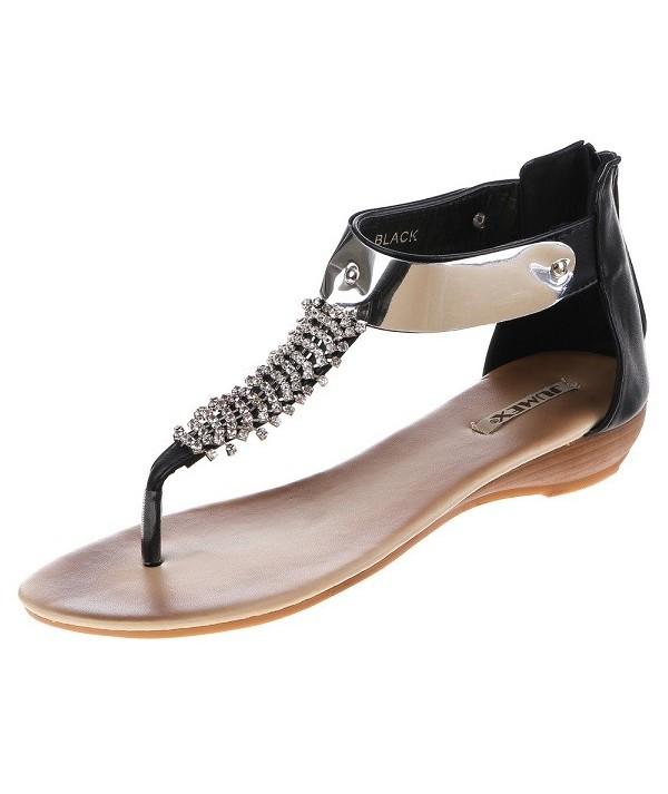 Dámské černé sandály HP8282